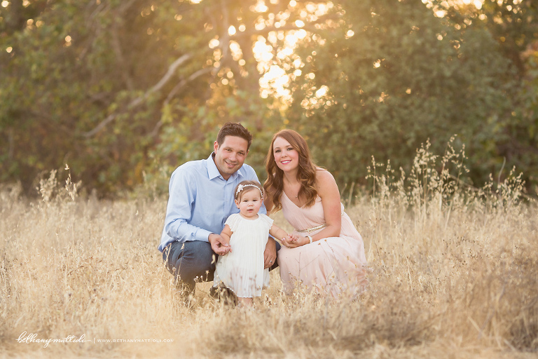 Bay Area Family Photographer One Year Old